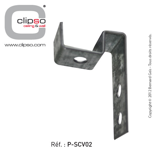 Invisible support for vertical frames: P-SCV02
