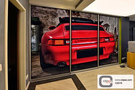 aeroceiling wall frame 2