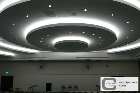 ceiling acoustic lighting