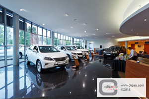 commercial application retail showroom