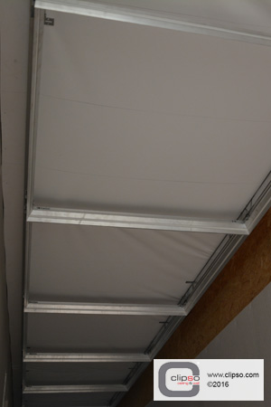ceiling torsion spring access plenum