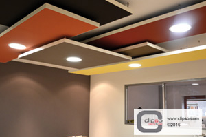 aeroceiling applications
