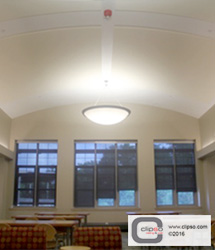 ceiling wall galleries commercial education