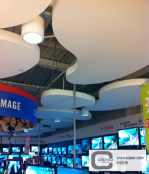 ceiling wall galleries commercial retail