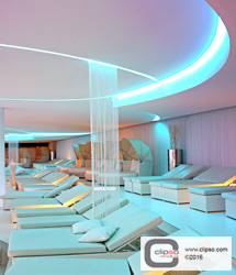 ceiling wall galleries commercial spas