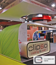 ceiling wall galleries commercial tradeshow