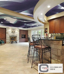 ceiling wall galleries residential kitchen