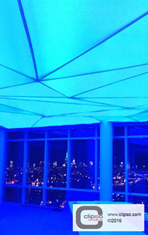 LED color backlighting ceiling 2