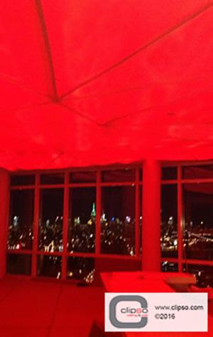 LED color backlighting ceiling 3