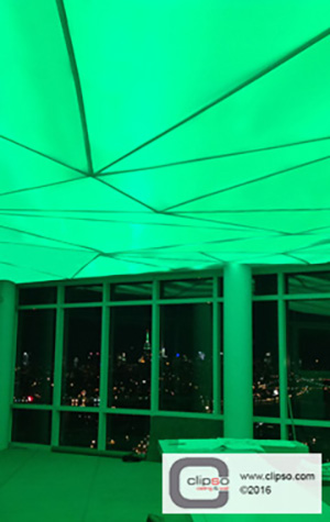 LED color backlighting ceiling 4