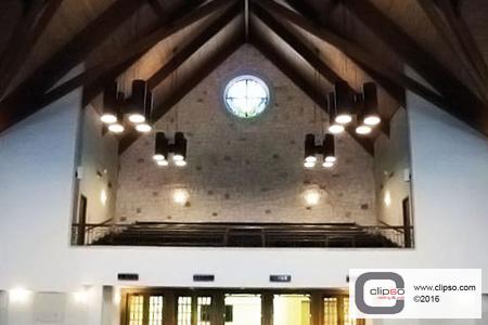 ceiling wall church renovation