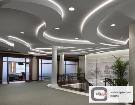 USC backlit ceiling