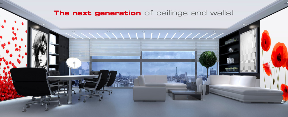 Clipso Stretch Ceiling And Wall Coverings For Interior Design