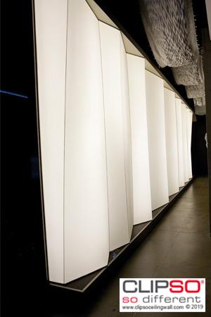 wall backlit ambiance